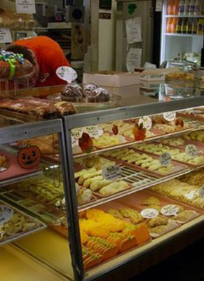 tasty pastries from Kiedrowski's Bakery